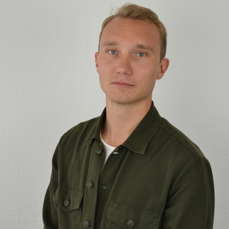 John Sandberg Ericsson digital marketing coordinator