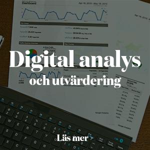 utbildning digital analys